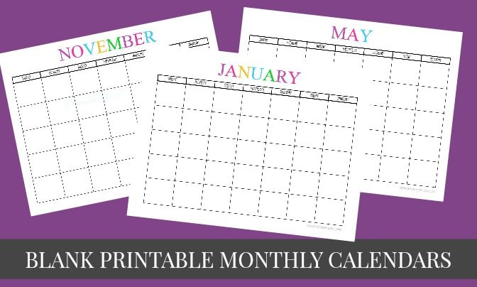 12 best Calendars images on Pinterest | Monthly calendars ...