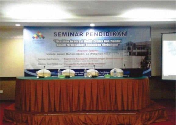 Seminar Pendidikan Al Binaa di Batam 2014