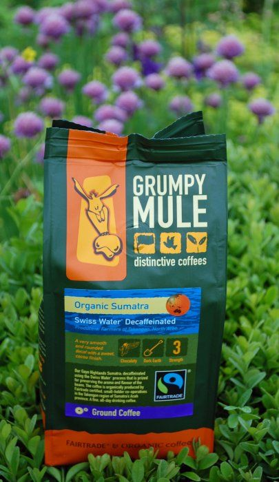 Grumpy Mule's Organic Fairtrade Decaffeinated Coffee. Grumpy Mule is a local coffee roaster to Steenbergs being based in Holmfirth and we are delighted to stock their range.