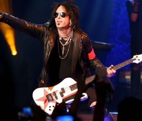Dec. 11, 1958, Born on this day, Nikki Sixx, bass, Motley Crue (1988 UK No.23 single 'You're All I Need' & 1989 US No.1 album 'Dr Feelgood').