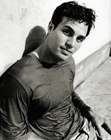 Mark Ruffalo! I kind of sort of love him in a weird don't-know-him-at-all way and in my second life that I don't believe I will have I plan to marry this man. So, ladies, say hello to the future luckiest man alive. (lol)