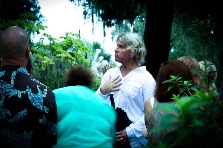 Bonaventure Cemetery evening tour in Savannah Ga. #sixsenseworld #savannah #bonaventure