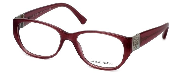 "GIORGIO ARMANI Eyeglasses AR 7016H 5157 Cherry Fabric Effect 53MM. 5"" Frame Width 1.6"" Lens Height. Authentic Giorgio Armani Designer Optical Eyewear ; Hand Crafted in Italy. Includes Original Giorgio Armani Carrying Case. Demo Lens ; No Power. RX Ready."
