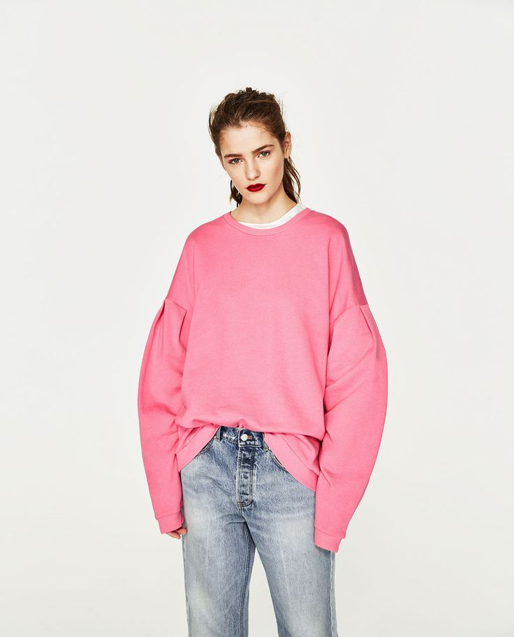 OVERSIZED SWEATSHIRT WITH FULL SLEEVES-COLLECTION-TRF-COLLECTION SS/17 | ZARA Canada