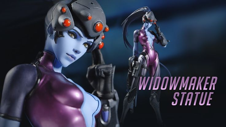 BLIZZARD COLLECTIBLES OVERWATCH - WIDOWMAKER AMELIE LACROIX UNBOXING