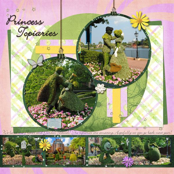 90 curated disney epcot scrapbook layouts ideas by for Flower garden designs and layouts