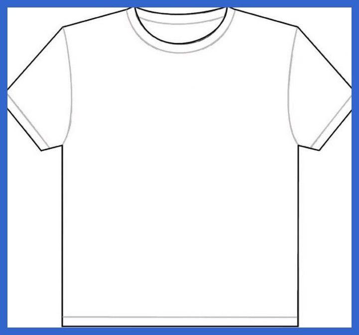 Blank Tshirt Template Leere T Shirt Vorlage Tshirtdrawing In 2020 T Shirt Vorlage T Shirt Shirts