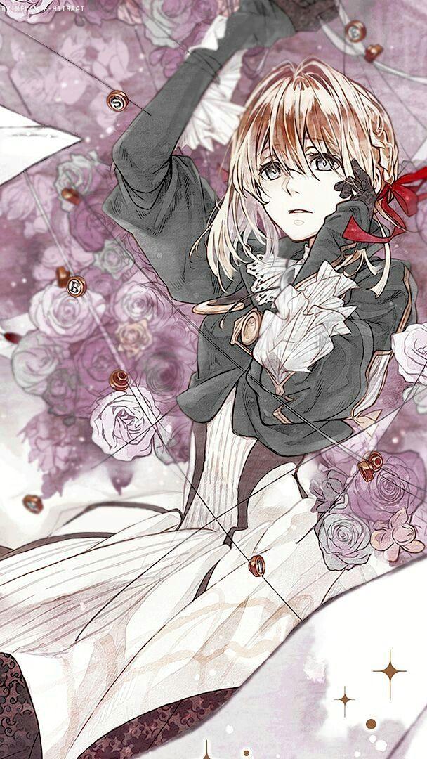 cosplay animeart Violet evergarden anime, Violet