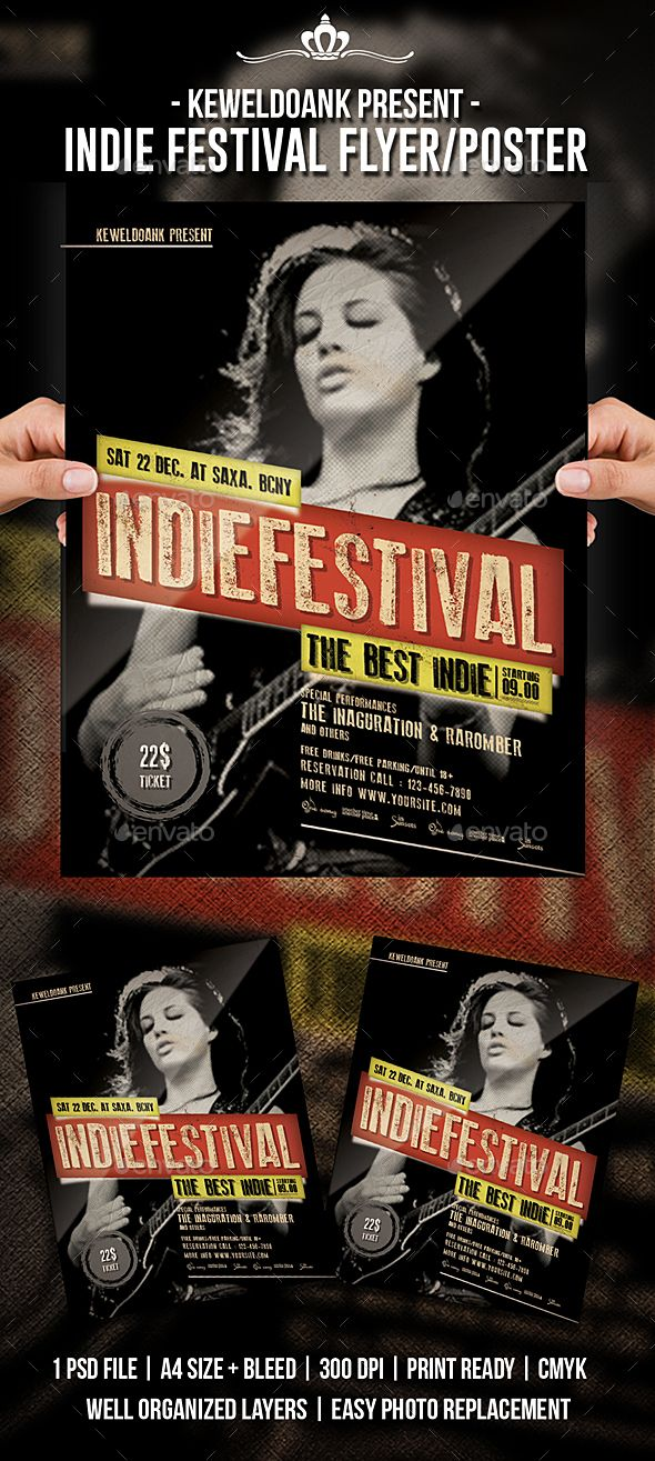 Indie Festival Flyer / Poster