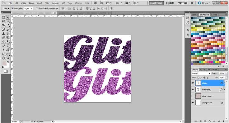 Lasse alles glitzern! Lerne in dieser Schritt-für-Schritt Anleitung, wie man Texten und Formen in Photoshop einen Glitter-Effekt hinzufügt. Erstelle ein neues Dokument. Stelle die Dokumenteneinstellungen auf eine Breite und Höhe von 15...
