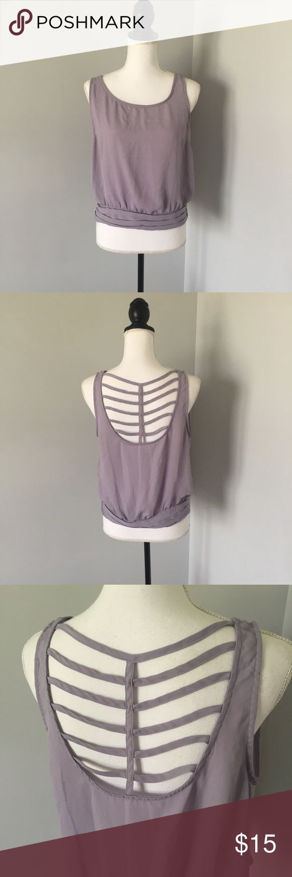 5 for $25 Sale! Liberty Love Purple Strappy Top This top is in excellent condition! Offers welcomed! 57 Liberty Love Tops Blouses