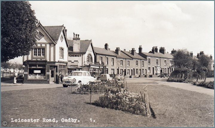 Oadby: Leicester Road 1950s