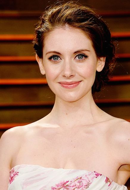 Alison Brie at 2014 Vanity Fair Oscars Party...