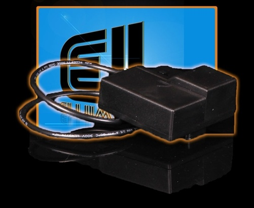 The Electric Optics Split EL Tape 9V Battery Pack uses brand new technology and allows you to power your Split Electroluminescent Tape perfectly