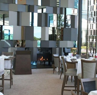 #Fireplace #Design & #Decorating Ideas at the #Hotel Beau Rivage