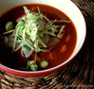 Mexican Pozole Soup