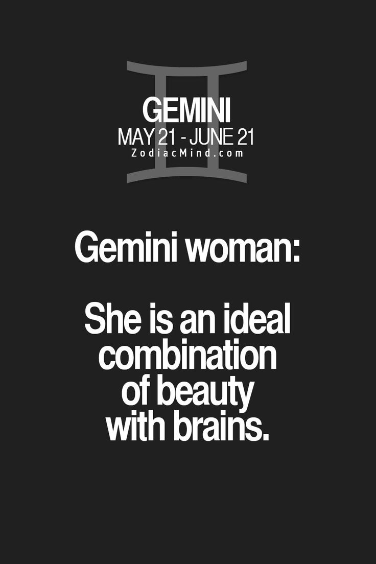 Gemini woman single