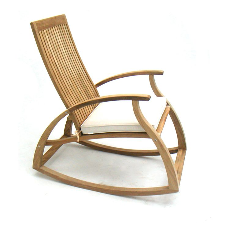 Teak Outdoor Rocking Chairs