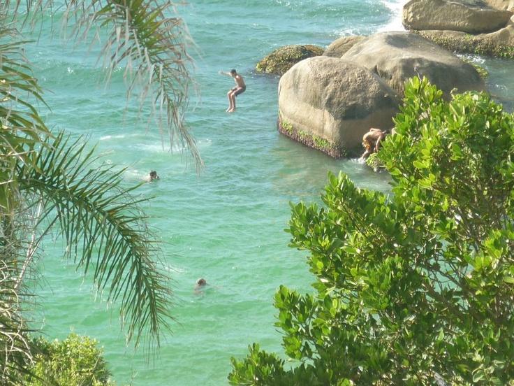 Mergulho en Barra da Lagoa
