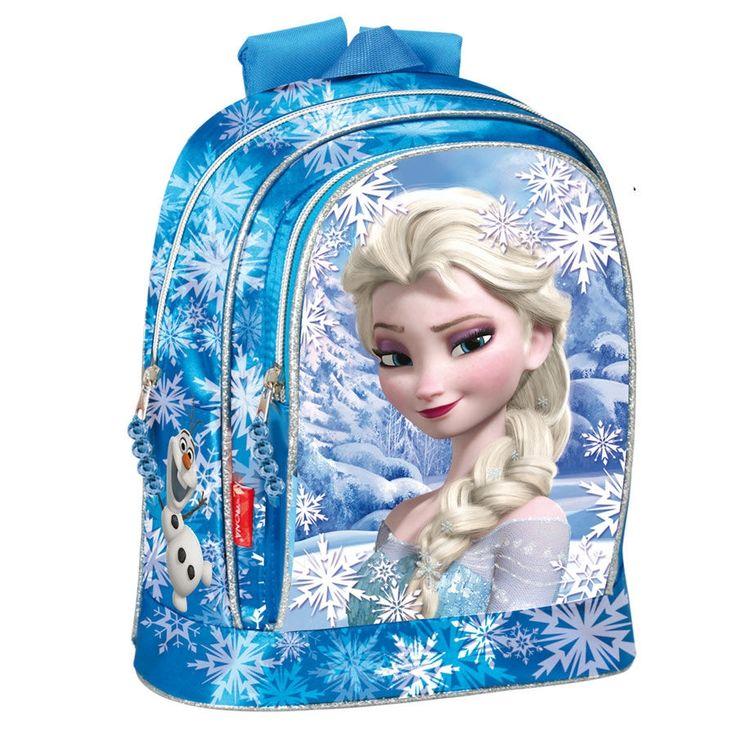 Loja dos Pequenotes - Mochila Escolar Frozen Disney Heart grande