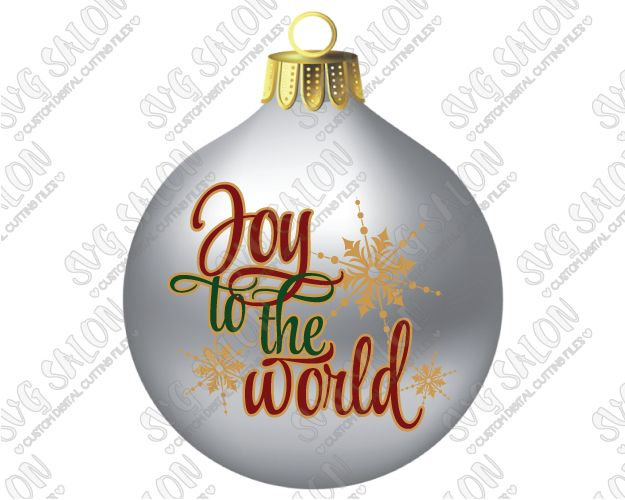 Joy To The World Custom Diy Seasonal Christmas Winter