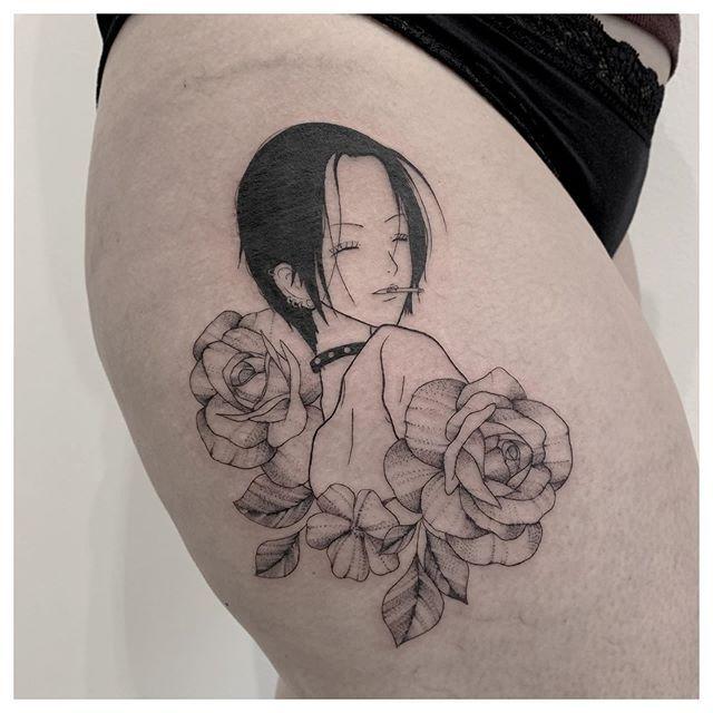 Nana Osaki Tattoo Nana Tattoo Cute Tattoos Tattoos