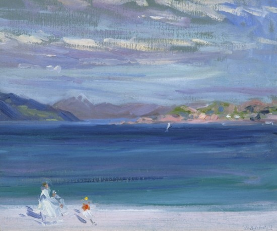 The Artist − The Scottish Colourist Series: FCB Cadell The Tail of Mull from Iona