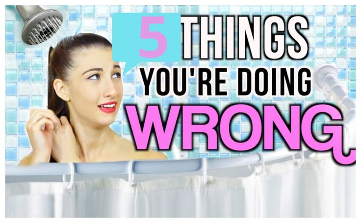 5 Things You're Probably Doing Wrong In The Shower