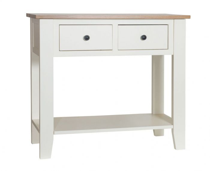 Simply Oak In Cream Small Hall Table Small Hall Table Hall