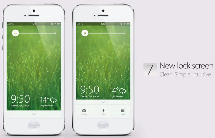 iOS 7 concept video : Change is Good:http://bit.ly/YMZ7gN