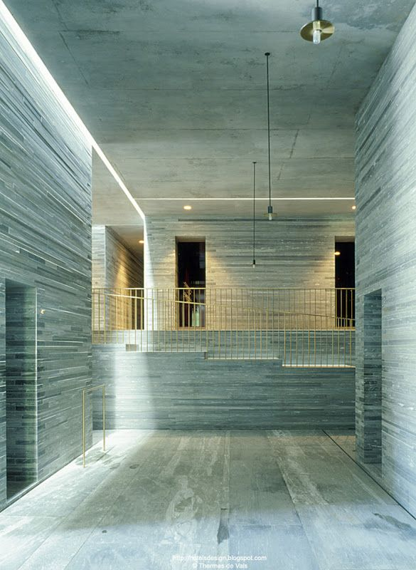 Therme vals les plus beaux hotels design du monde for Design hotel vals