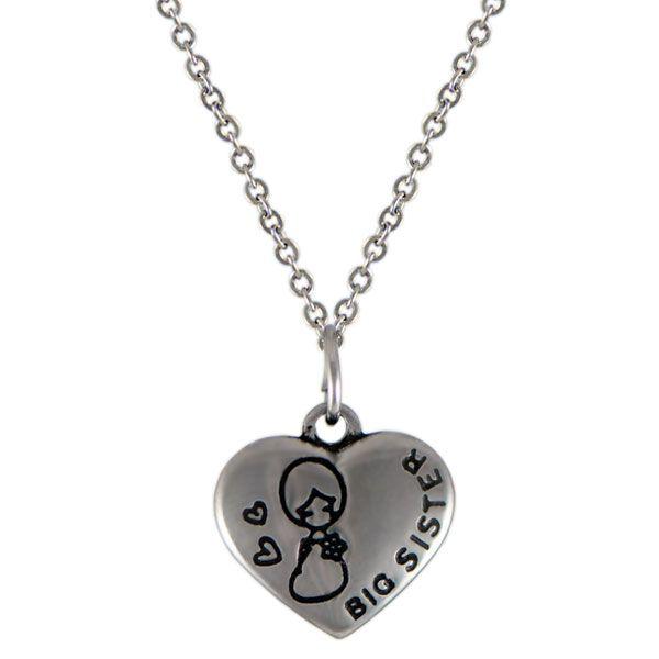 NH3286OC Srdce náhrdelník z chirurgickej ocele : Šperky Swarovski, SuperSperky.sk