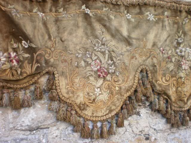 Detail of beautiful French valence