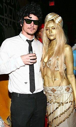 Josh Hartnett and Gemma Ward - Celebrity Halloween Costumes