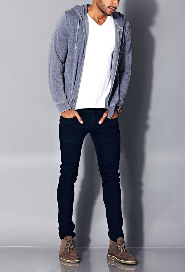 Mineral Wash Hoodie | Guys Spring Fashion