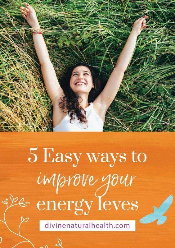 """Energy!  That elusive 'thing' we all wish we had more of.  Do you ever see a child running around for no reason and think to yourself, """"I wish I had that kind of energy""""?  I'm here to share with you five very simple ways that you can look after and improve your energy levels.  And when you have more energy, everything is easier."""
