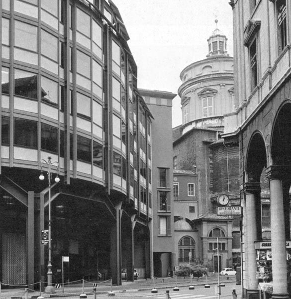 BBPR, Office Building, Milan, 1971