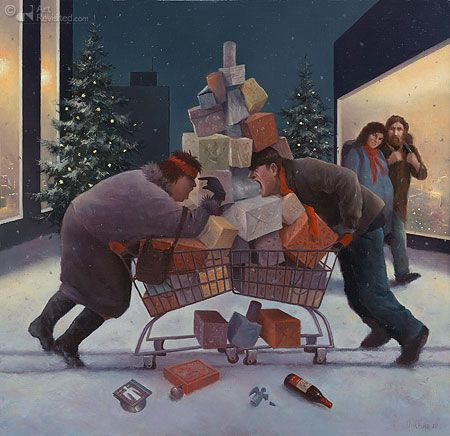 Marius van Dokkum-Peace on earth and good will toward men...