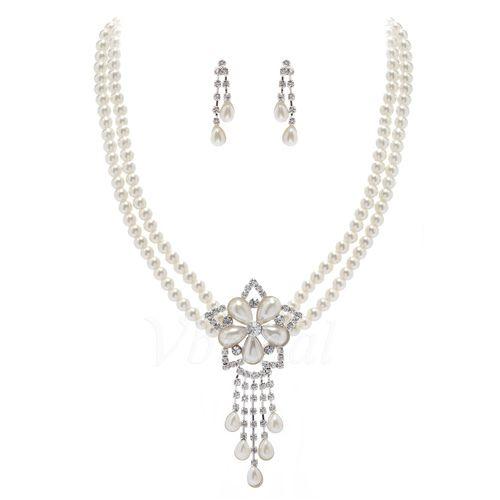 Bijoux - $12.99 - Belle Alliage avec Pearl/Cristal Dames Parures (01105011085)