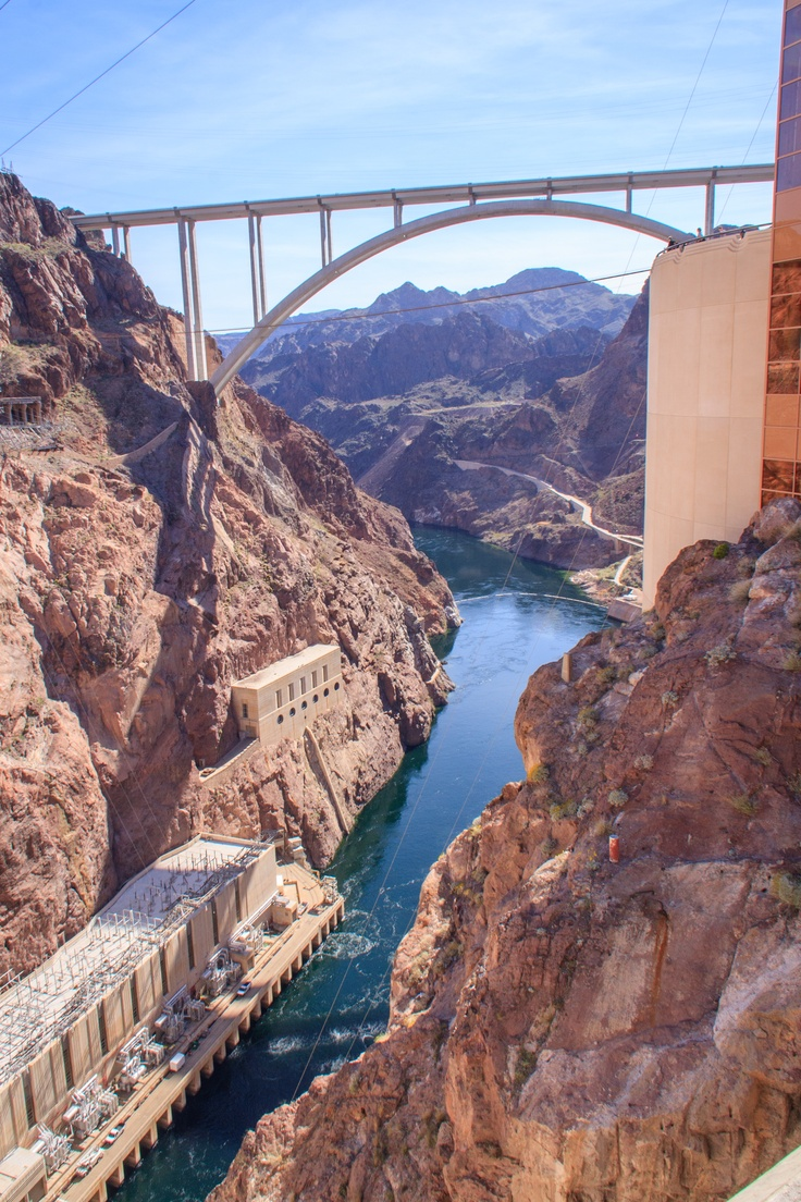 Hoover Dam Bridge. Did the hover Dam tour.