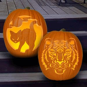 Unique Pumpkin Carving Patterns Pumpkin Carving Pattern