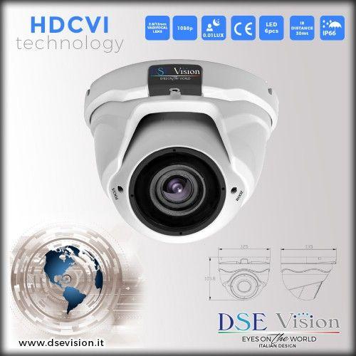 DS-GVHD20MPD Telecamera a colori dome varifocale 2.8-12mm IR impermeabile