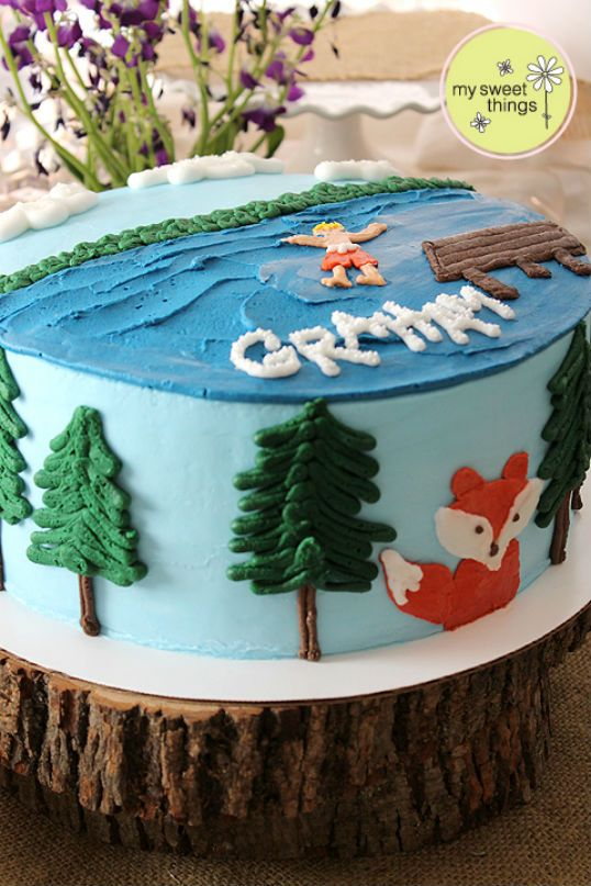 17 Best Ideas About Lake Birthday Parties On Pinterest
