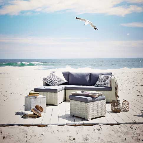17 best images about maritime gartenm bel on pinterest rattan outdoor and outdoor sofas. Black Bedroom Furniture Sets. Home Design Ideas