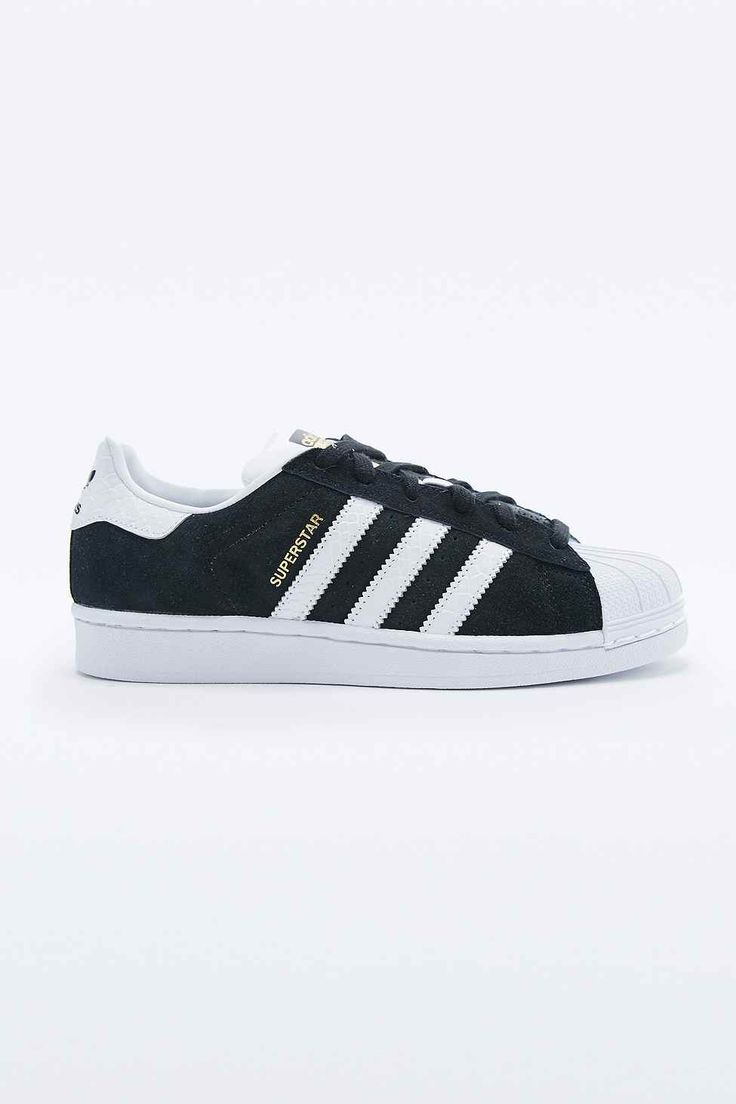 Outlet USA Beautiful Unisex Adidas Superstar White Black Gold Trainers Responsible