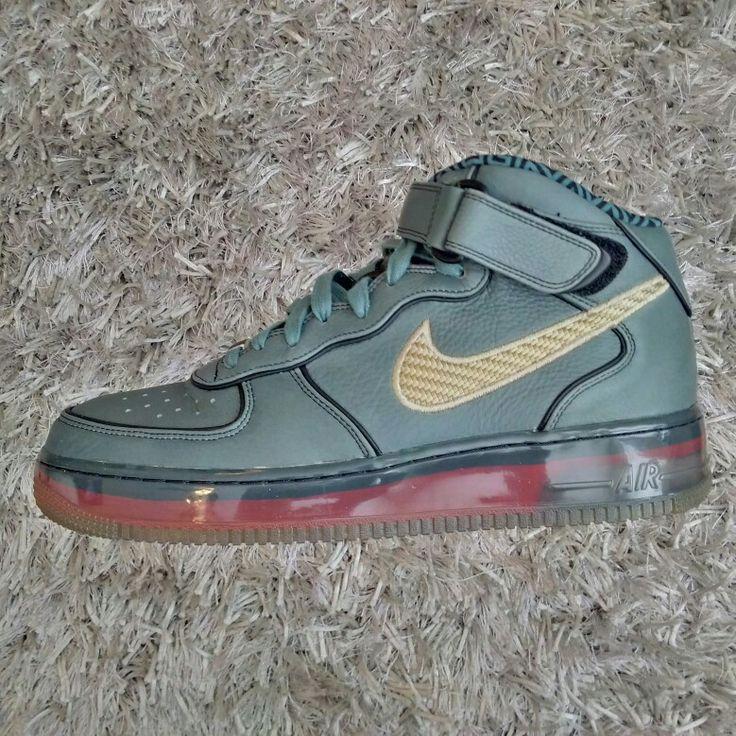 Nike Air Force 1 Mid SPRM MX Air 07 (Hasta/Ntrl Olive-Vrsty Rd)