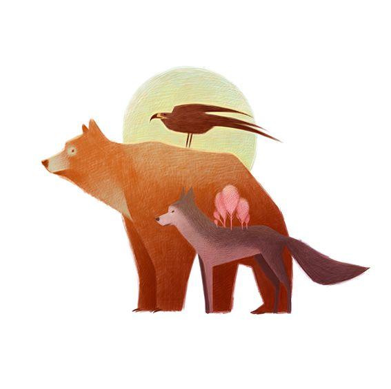 #animalscompilation on Behance