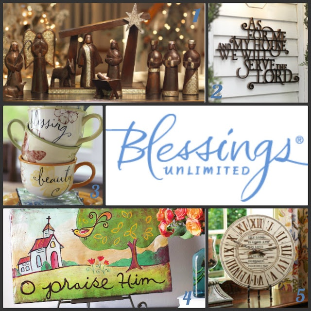 Blessings Unlimited #homedecor and #gift #giveaway! Enter @ SixSistersStuff.com! Ends November 7th.
