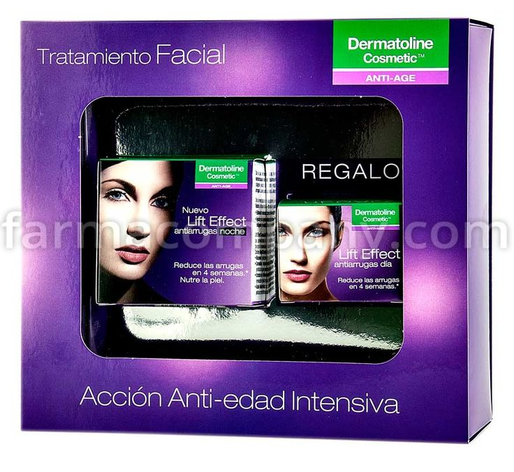 Dermatoline+Cosmetic+Lift+Effect+Antiarrugas+Noche+50+Ml+++Lift+Effect+Antirrugas+Dia+15+Ml+REGALO+en+Farmacompany.com