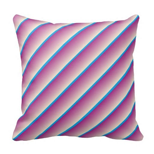 Blue Striped Decorative Pillows : 17 Best images about Striped Throw Pillows on Pinterest Stripes, Blue throw pillows and Black ...